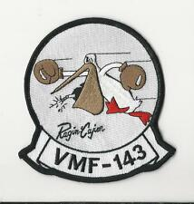 USMC PATCH - VMF 143 - RAGIN' CAJIN