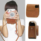 Retro PU Leather Camera Case Cover For Fujifilm Fuji Instax Mini8 Shoulder Bag