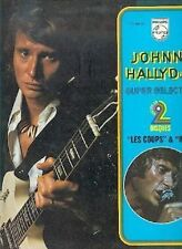Johnny Hallyday 33T 2 disques titres 1966/67/68