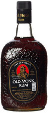 Old Monk Rum - 7 Years Old | brauner indischer Rum | 42,8% Alc. | 1 Liter