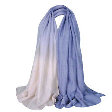 us Glitter Women Long Voile Scarf Soft Pashmina Wrap Shawl Stole Scarf  US