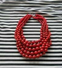 ANTHROPOLOGIE CHUNKY STATEMENT BEADED NECKLACE