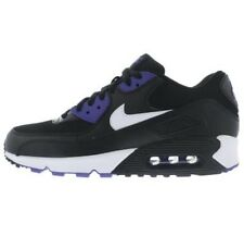Nike Air Max 90 Essential Black Persian Violet 537384-052 Men's Size 12