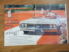 1961 Oldsmobile Classic 98 Convertible Ad   at the Tennis Court Theme