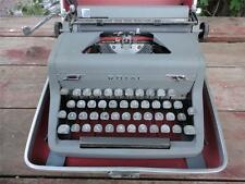 Vintage 1950's ROYAL QUIET DELUXE Gray Portable Typewriter FREE SHIPPING