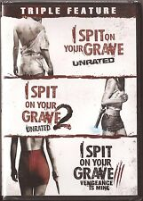 3-Movie I Spit On Your Grave 1, 2 & 3 - DVD Triple Feature - BRAND NEW