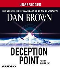 Deception Point by Dan Brown (2004, CD, Unabridged) AUDIOBOOK 15 CD'S