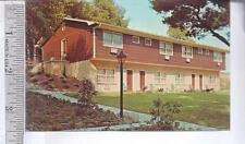 1973 cancelled used post card GASHO INN, CENTRAL VALLEY, NY The Villa