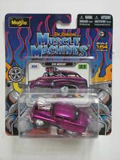 MAISTO  2012 MUSCLE MACHINES  1949 MERCURY PURPLE 12.2  SC1:64
