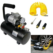 SUNDELY Heavy Duty 12v Portable Air Compressor 4x4 Tyre Pump