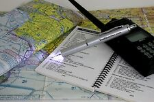 "The Pilot's Pen - ""Aviator"" World's Best LED Ink Pen - Medical, Aviation, Night"