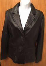 Women's Leather Jacket, Size Small, Black - By Wilsons Leather