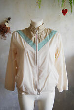 gorgeous JEAN LAURENT LTD 70s angel chinese collar bomber jacket UK14