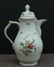 "Rosenthal Kaffeekanne 1,5 l - "" Moosrose "" Sanssouci ! Classic Rose Collection !"
