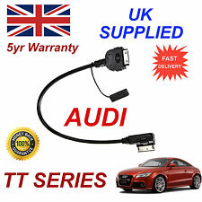 AUDI TT Series AMI MMI 4F0051510K iPhone 3gs 4 4s iPod MP3 USB & 3.5mm Aux cable