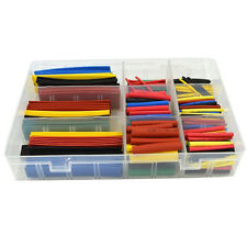 328 Pcs Assorted Heat Shrink Tube 5 Colors 8 Sizes Tubing Wrap Sleeve Set HMTH