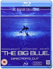 The Big Blue Director's Cut [1988](Blu-ray)~~~Jean Reno/Marc Barr~~~NEW & SEALED