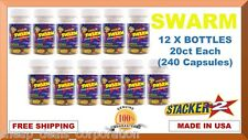 Swarm Energizer Ephedra Free 240ct Weight Loss, Energy Herbal Dietary Supplement