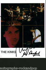 The Kinks Ray Davies 2013 signed autograph UACC AFTAL
