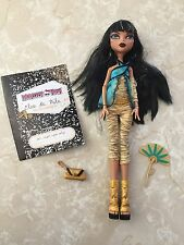 Monster High Doll 1st Cleo De Nile Diary Fan Purse Wave 1 Original 2008 LOT!
