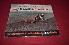 Massey Harris Ferguson No. 31 20 Disc Harrow Dealer's Brochure YABE6