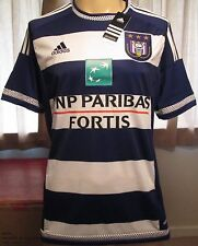 Authentic Adidas R.S.C Anderlecht home football shirt size L 2015-16 New