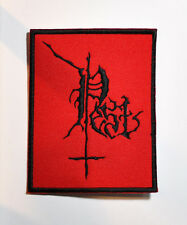 PEST BLACK METAL EMBROIDERED PATCH KRIEG LEVIATHAN KATHARSIS VON DISSECTION ABSU