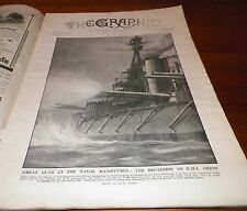 1912 The Graphic Magazine London Paris French Infantry Uniforms WWI Illu July 13
