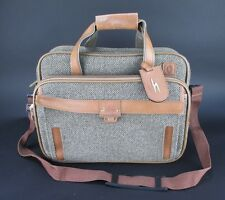 Hartmann Tweed & Leather Touring Carry-On Shoulder Bag Tote