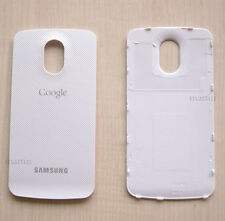White New Back Cover Case Battery Door For Samsung Galaxy Nexus Google i9250