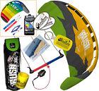HQ Rush Pro V 300 3M Trainer Kite Kiteboarding Foil Power Surf Snow +2ND HQ Kite