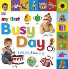 Tabbed Board Books: My First Busy Day: Let's Start Learning! (Tab Boar-ExLibrary