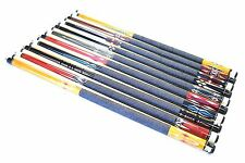 "SET OF 10 POOL CUES New 58"" Canadian Maple Billiard Pool Cue Stick #4 PLUS SHIP"