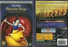 WALT DISNEY : BLANCHE NEIGE ET LES 7 NAINS / EDITION 2 DVD COMME NEUF - LIKE NEW