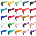 """12"""" x 99"""" Satin Table Runner Wedding Party Decorations 25+ Colors HOT"""