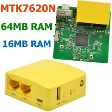 GL.iNet 300Mbps Mini WiFi Router MTK7620N Travel Router OPENWRT ENGLISH Firmware