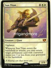 Magic Commander 2014 - 1x  Sun Titan - Mythic