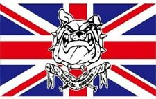 new 5x3' UNION JACK BULL DOG FLAG  UNITED KINGDOM LOYALIST GREAT BRITAIN
