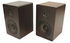 "Voll B44 Bookshelf Speakers 75 watts 4"" Carbon Fibre Woofer & Silk Dome Tweeter"