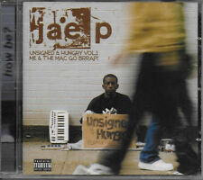 JAE-P - Unsigned And Hungry Vol.1 - Me & The Mac Go Brrap! - CD - **NEW SEALED**