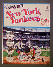 1971 New York Yankees Dell Baseball 24 Photo Stamps Team Booklet Set-Munson +