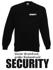 20 Stck. SECURITY SWEATER - Gr. S bis XXL