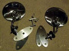 Door mirror set, JASS Vintage style mirrors, Mazda MX-5 MX5 mk1 mk2 & mk2.5, NEW