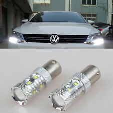2pcs CANbus White CREE 50W LED Bulbs for Volkswagen MK6 Jetta Daytime DRL Lights
