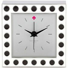 NWT Kate Spade New York Cross Pointe Spots Clock by Lenox  NEW IN BOX