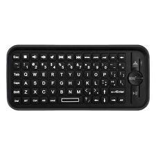 Bluetooth Mini Wireless Keyboard for Apple TV w/ Gyroscopic Mouse Remote Control