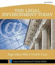 Miller Business Law Today Family: The Legal Environment Today by Frank B....