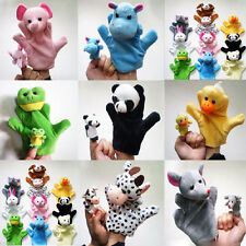 Kids Cute Mixed Animal Finger Puppets Plush Cloth Doll Development Baby Hand Toy