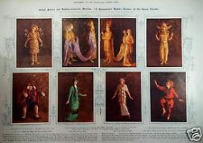 A Midsummer Night's Dream Sovoy Theatre Actors Costume 1914 Polychromide Process