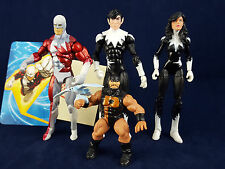 Marvel Universe Alpha Flight Northstar Aurora Puck Guardian Team Legends 3.75""